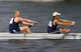 Coxless Double Rowing