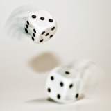 2 Dice Showing 3 and 1