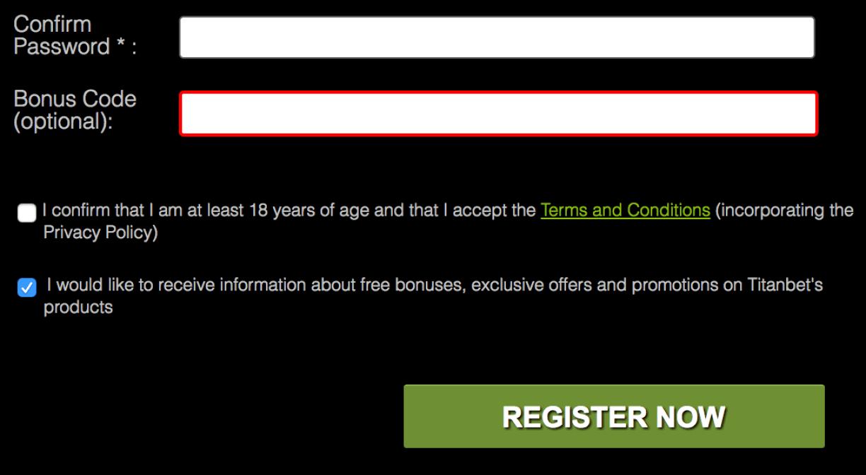 Титан казино бонус код online casino free signup bonus