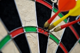 Darts Treble Bullseye